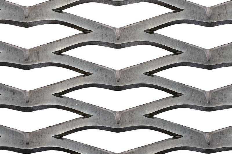 Rhomboidal mesh 110×25
